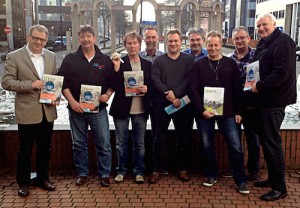 Faktenaustausch zwischen Mitgliedern der niederländischen FNV Sektion Schiene und mobifair.